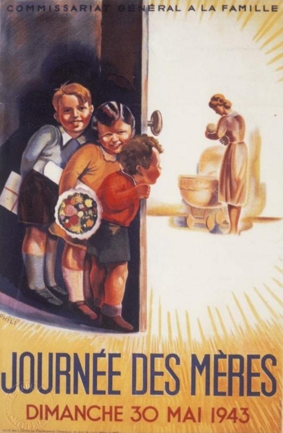 Journée des Mères 30 mai 1943