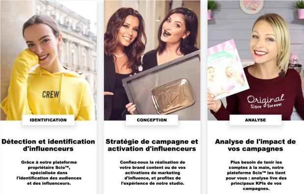 Agences de marketing d'influence